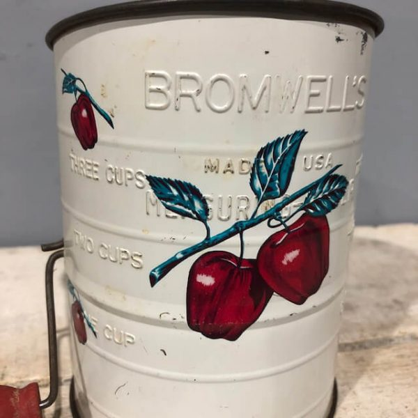 Bromwell's Tin Flour Sifter