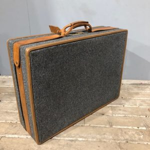Tweed Hartmann Vintage Suitcase