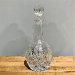 Cut Glass Decanter
