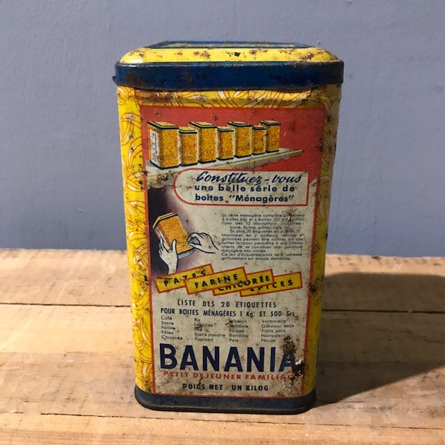 French Vintage Advertising Tin Chocolate Milk Tramps