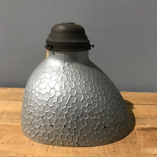 Vintage Mercury Glass Light Shade and Fitting