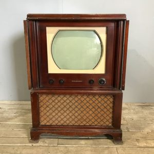 Vintage RCA Victor Black and White Television