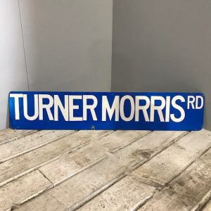 Turner Morris American Road Sign