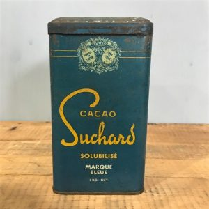 Vintage French Suchard Cacao Tin
