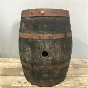 Small Wooden Vintage Barrel