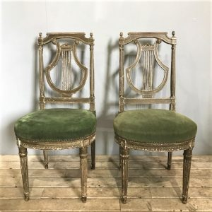 Pair Of French Regency Style Chairs