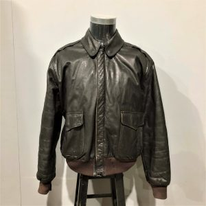 L.L. Bean Leather Flying Tiger Jacket