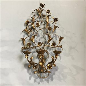 Large Italian Gilt Sconce