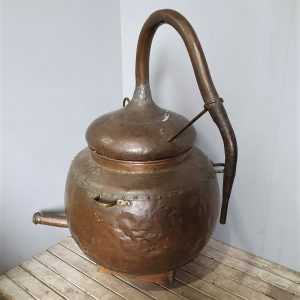 Large Vintage Copper still