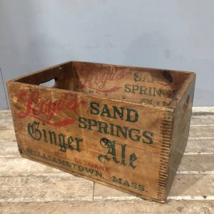 Lloyd's Ginger Ale Crate