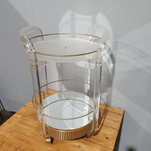 Lucite Drinks Trolley