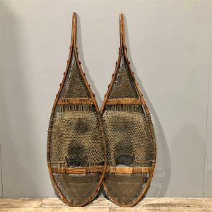 Native American Indian Pom Pom Snowshoes
