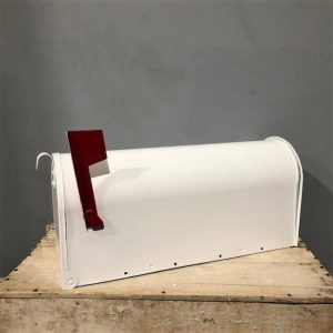 New American White Mail Box