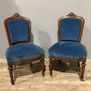 Pair Of Antique Salon Chairs