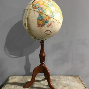 Rotating Globe On Stand
