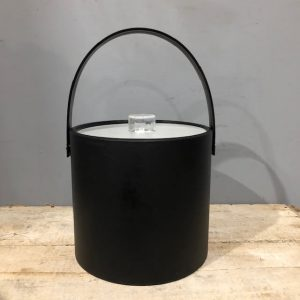 Stylish Black Ice Bucket