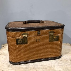 Vanity Travel Case Vintage
