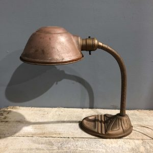 Vintage American Goose Neck Lamp
