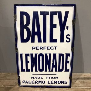 Vintage Enamel Lemonade Sign