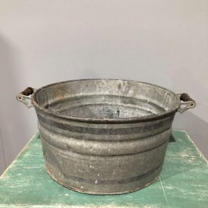 Vintage Galvanised Wash Tub