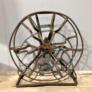 Vintage Metal Air Hose Reel