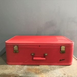 Vintage Red Starline Suitcase