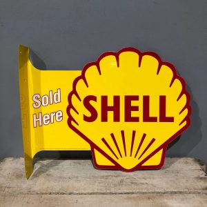 Vintage Style Shell Sign