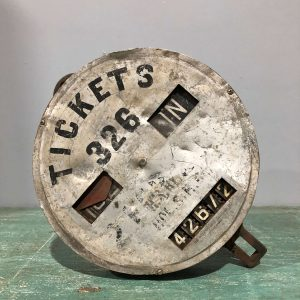 Vintage Ticket Dispenser