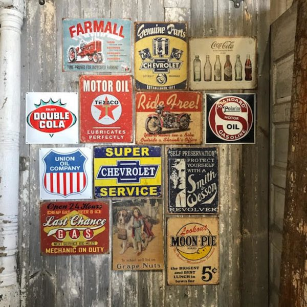 Vintage Style Advertising Sign
