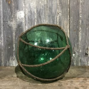 Green Glass Fishing Net Float