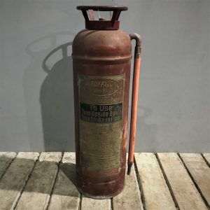 American Buffalo Vintage Fire Extinguisher