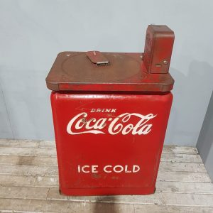 Vintage Coca Cola Junior Chest Vending Machine