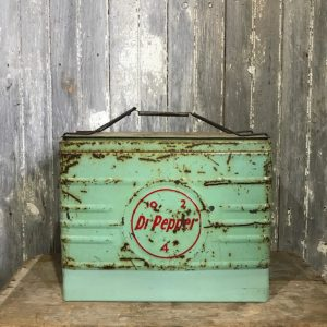 Vintage Dr Pepper Cool Box