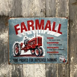 Vintage Style Sign For Farmall Farm Equipment