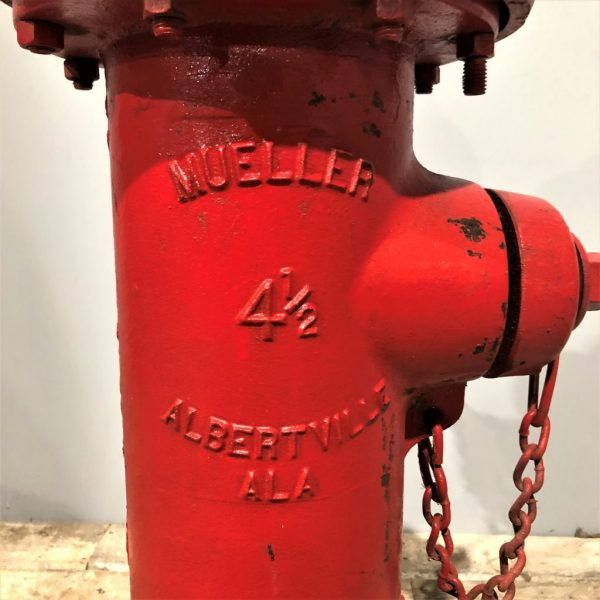 Red Vintage American Fire Hydrant