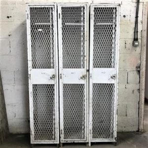 Industrial Vintage Lockers