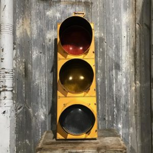 Original American Yellow Traffic Light