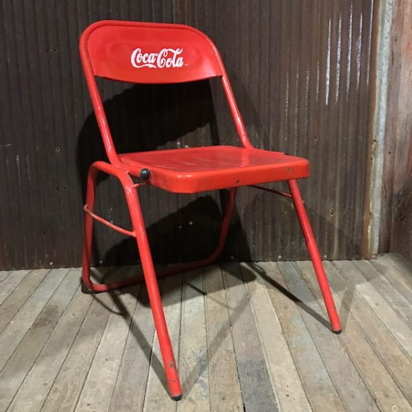 Stacking Coca-Cola Chair