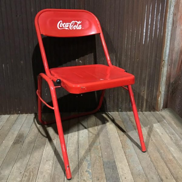 Coca Cola Stacking Chair