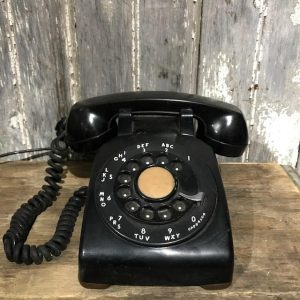 Vintage Rotary Dial Office Phone